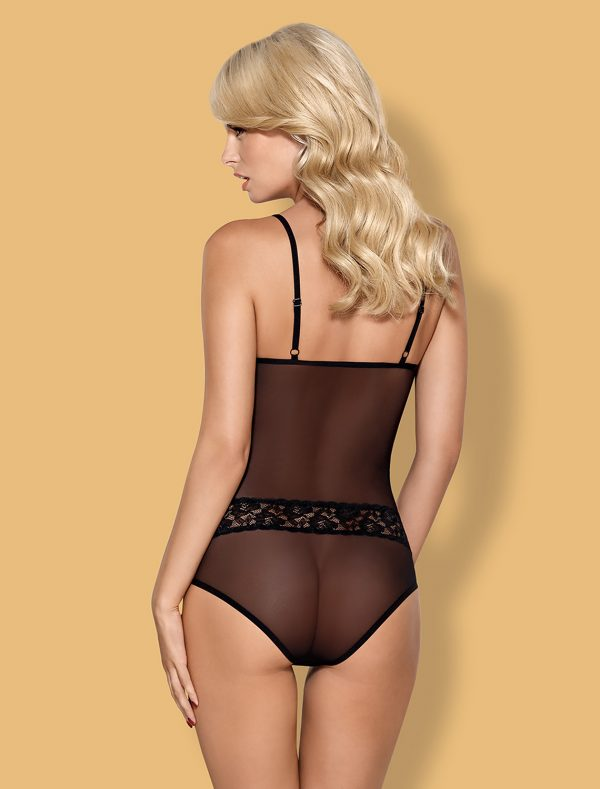 Body noir transparent 812-Ted-1 Obsessive dos