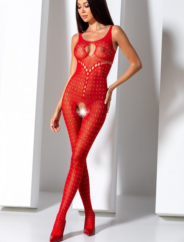 Bodystocking ajourée rond BS078R Passion
