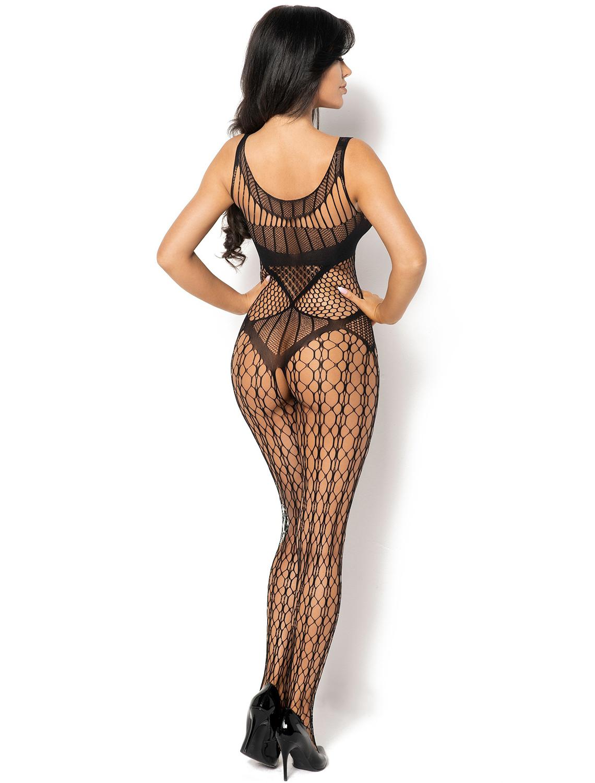 Bodystocking noir Juliya BN6581 Beauty Night dos