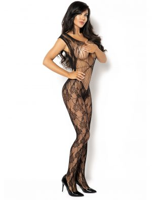 Bodystocking noir Kiara BN6591 Beauty Night