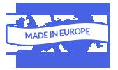 Fabriqué en europe Eng