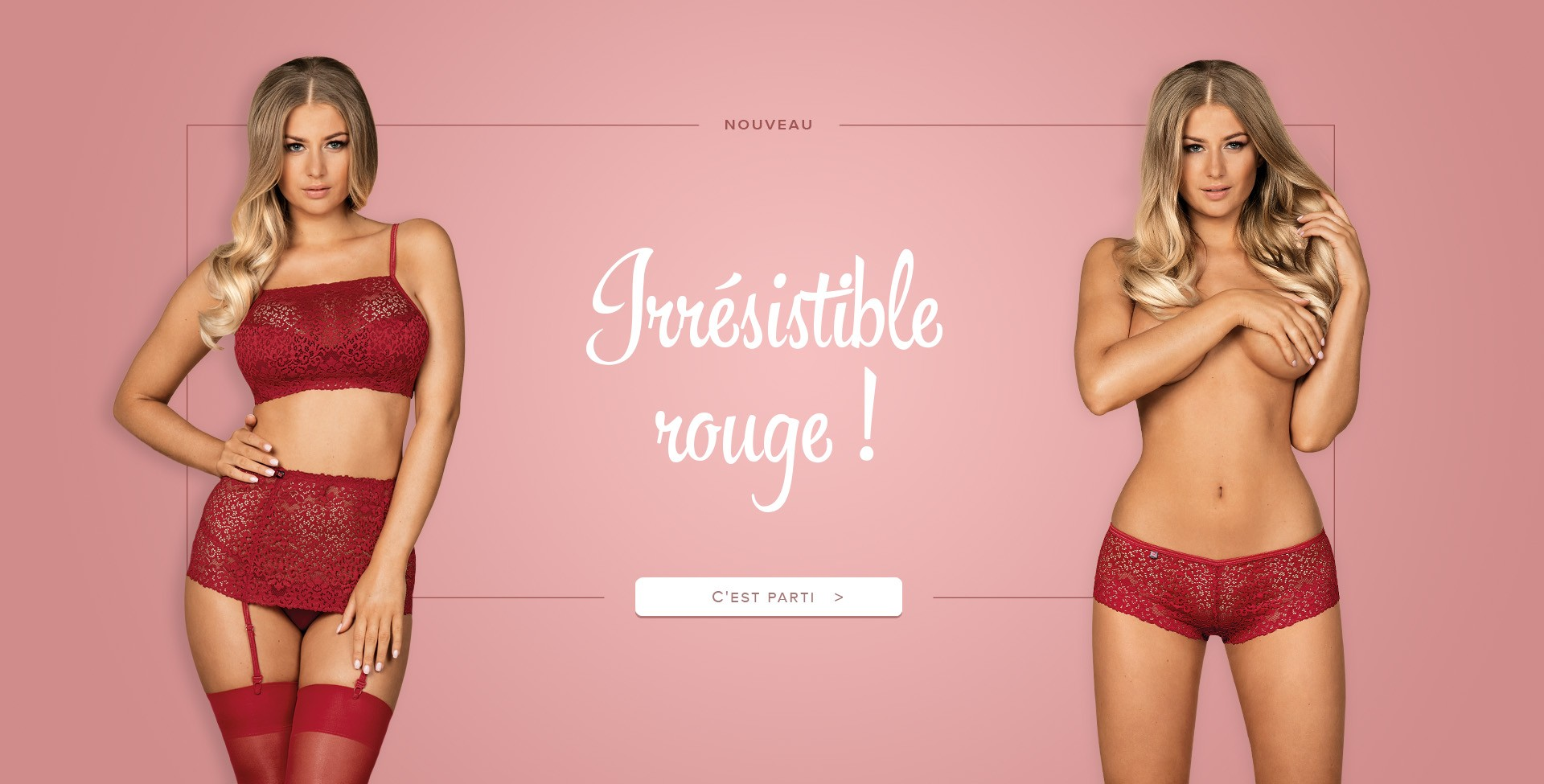 Irresistible rouge slider