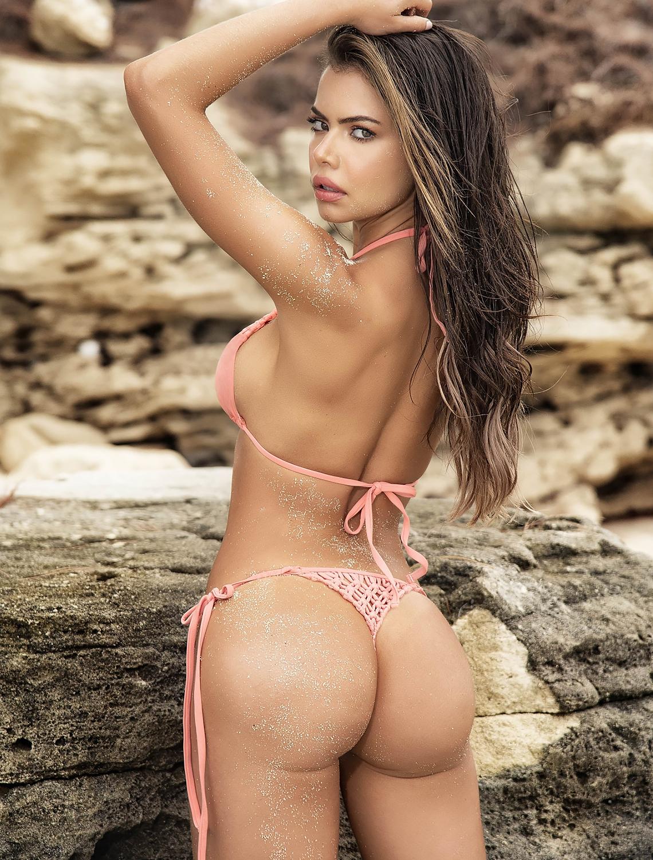 Maillot de bain bikini corail 6557 Mapalé dos