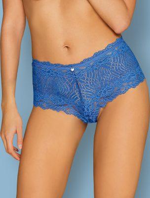 Shorty dentelle bleue Bluellia Obsessive